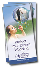 Dreamsaver Wedding Insurance leaflets