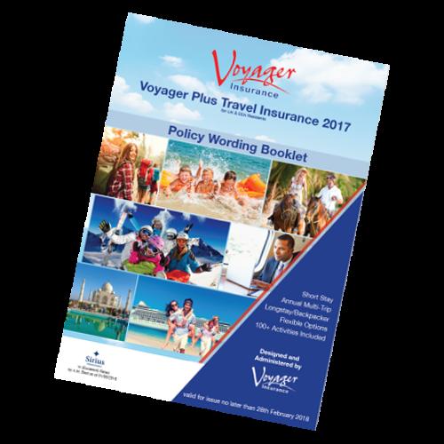 Voyager Plus Travel Insurance