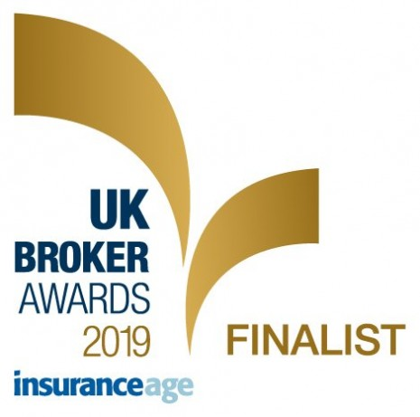 Insurance Age Finalist badge